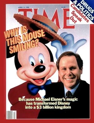 Eisner on TIME Apr 25, 1988