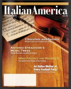 Cover Italian America mag